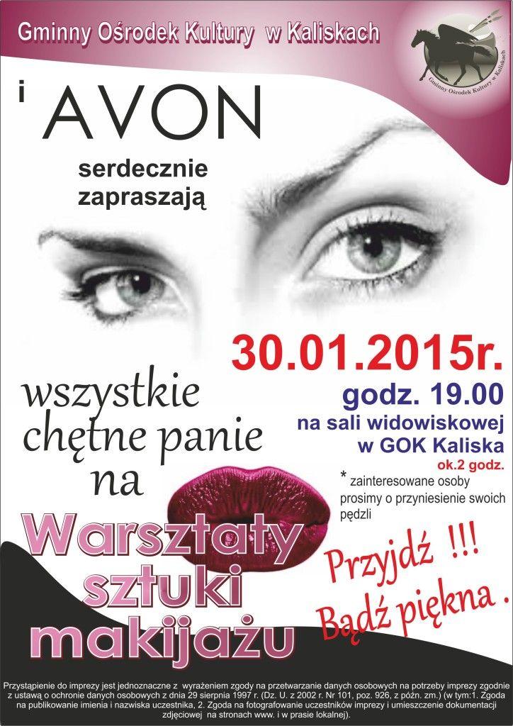 Plakat AVON