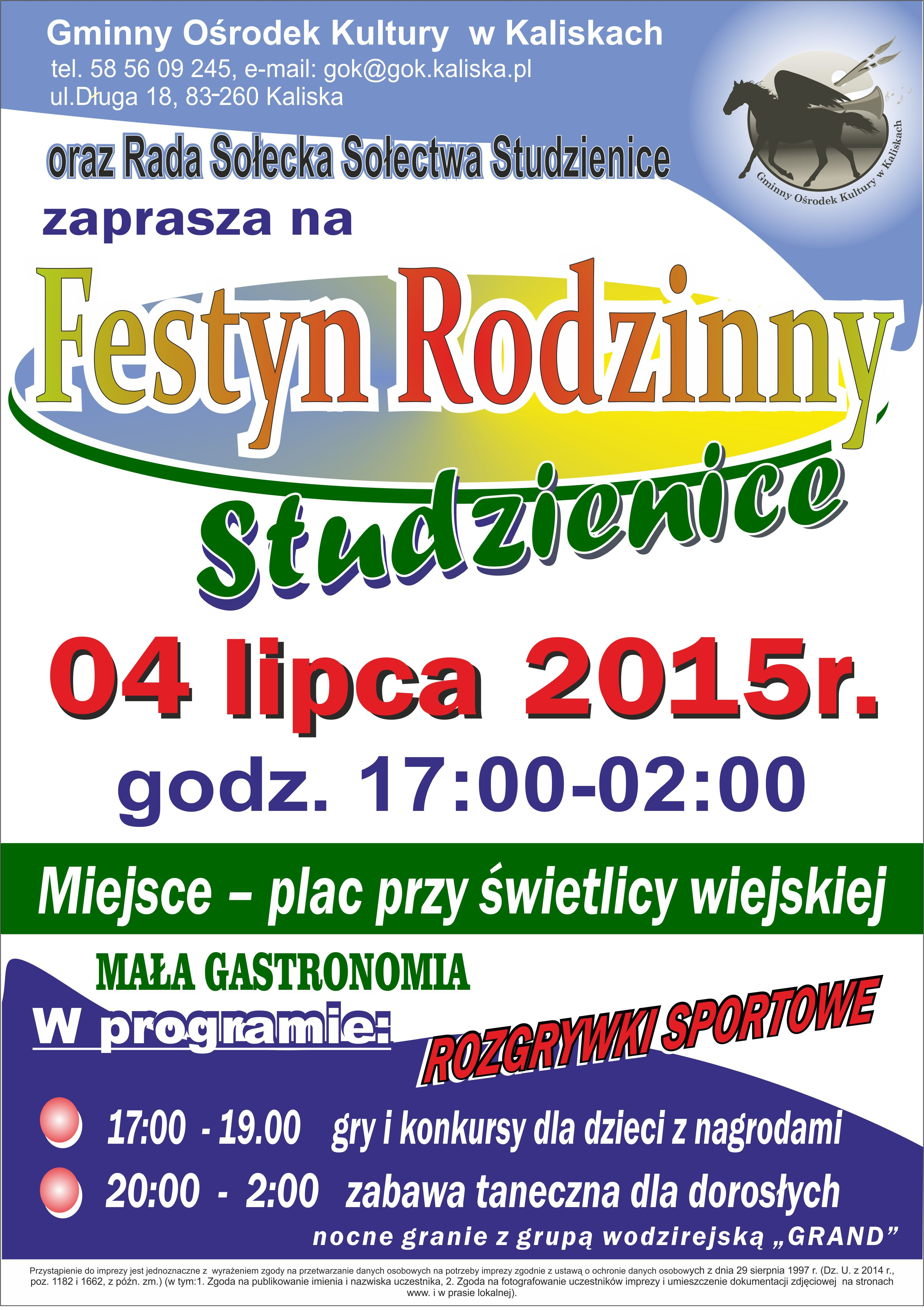 plakat Studzienice