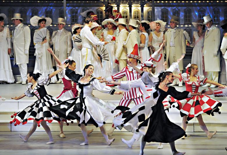 "Operetka ""Zemsta nietoperza"" Johanna Straussa   GOK Kaliska"