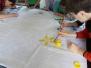 Malowanie haftu kociewskiego