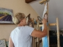 Plener malarski, malarstwo sakralne