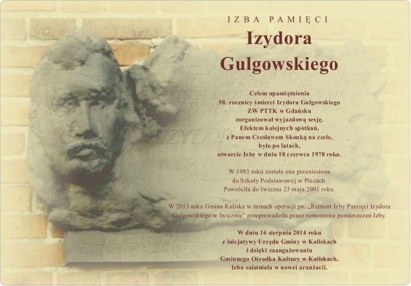 Izba Pamięci Izydora Gulgowskiego w Iwicznie