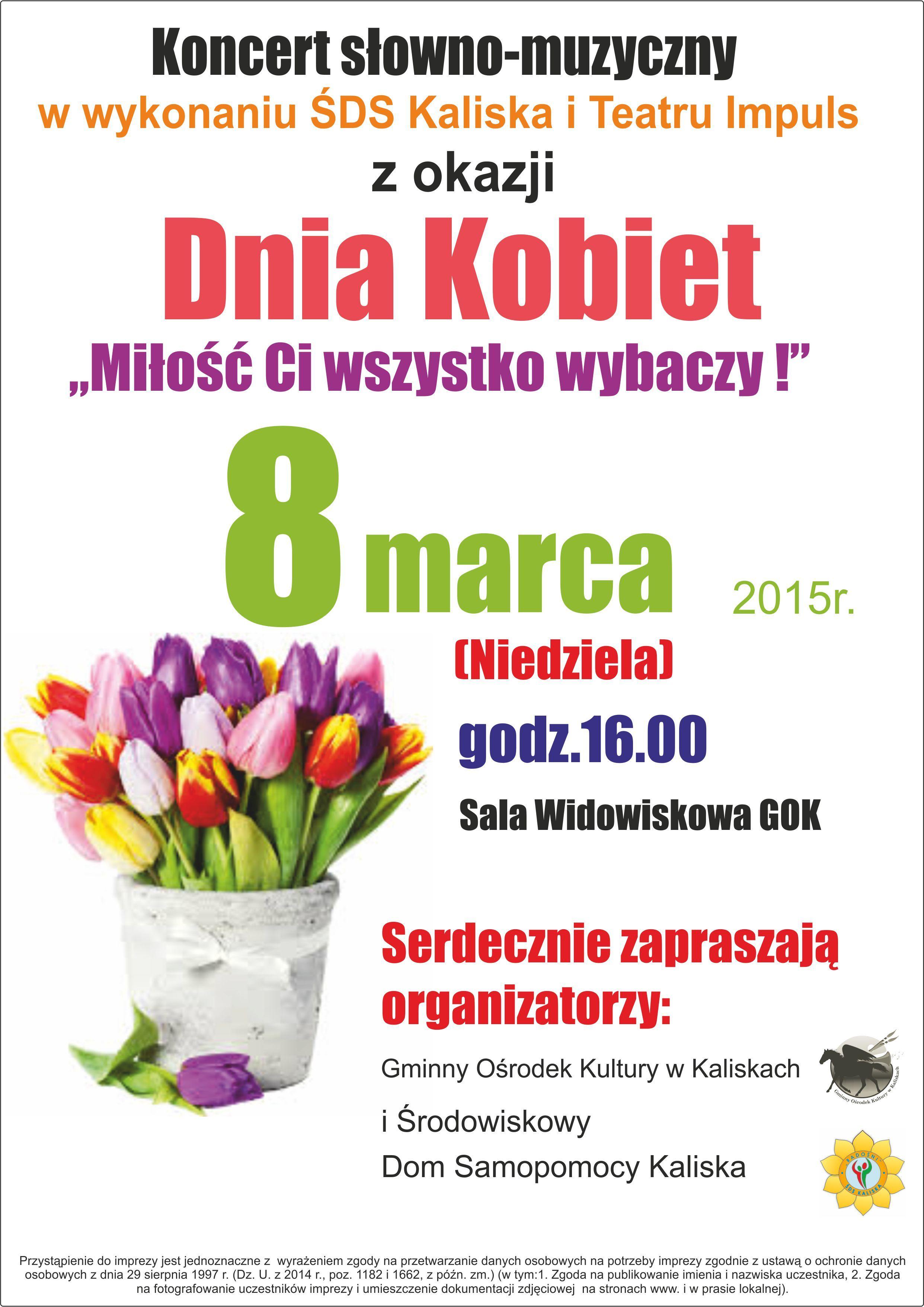 plakat dzień kobiet