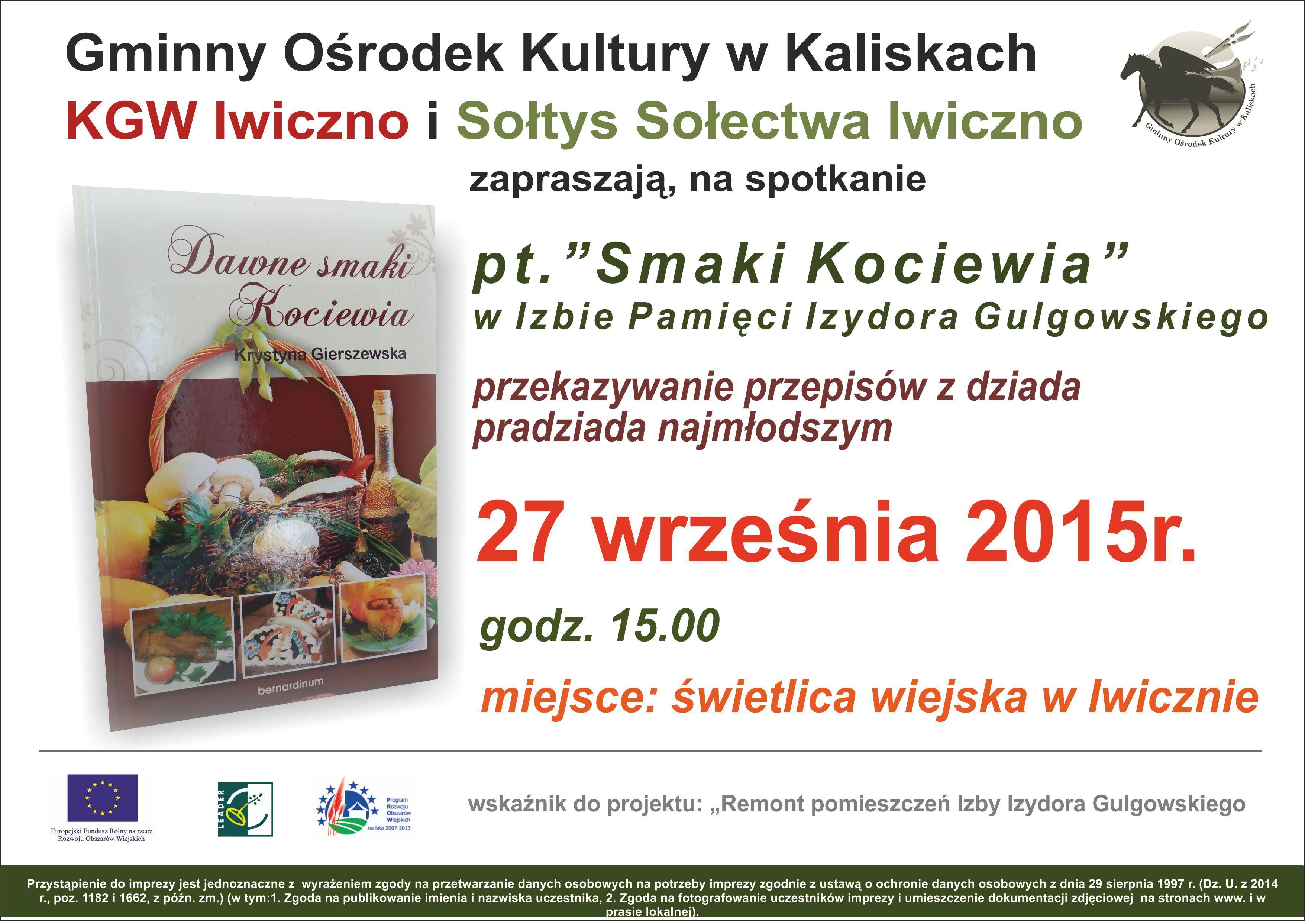 plakatSmaki Kociewia