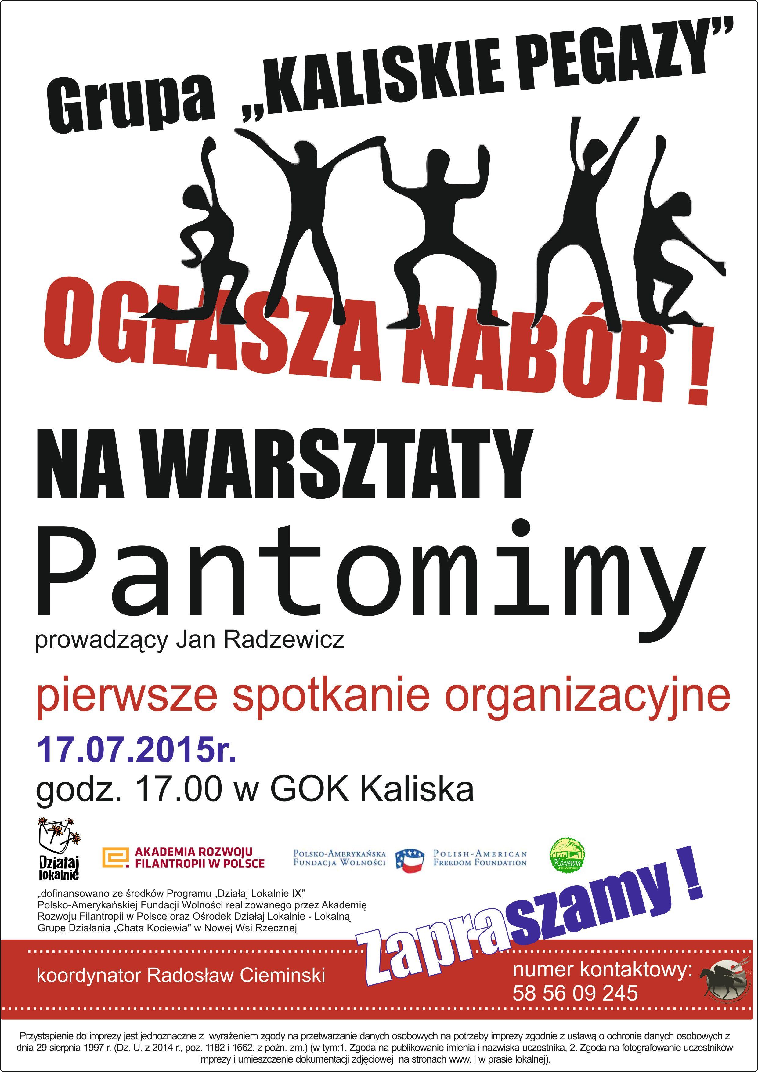PLAKAT pantomima