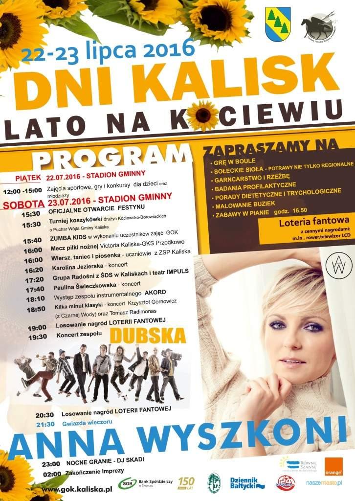 Dni Kalisk- Lato na Kociewiu plakat